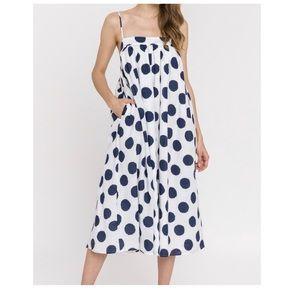 Polka Dot Sundress with Pockets!!